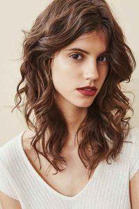 big curl shag hair