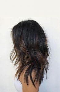 soft highlights dark brown