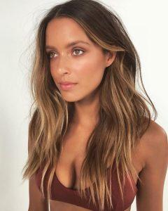 bronzey caramel hair