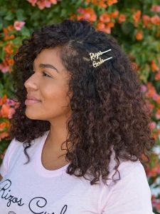 bobby pin curls