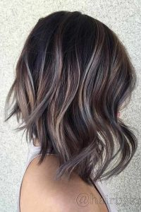 brown hair with platinum