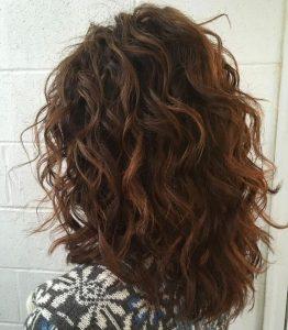 layered curls medium