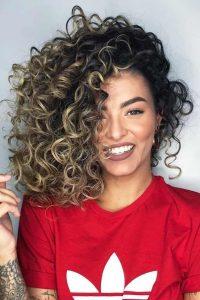 volume big curls
