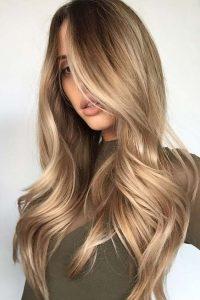 pretty caramel hair