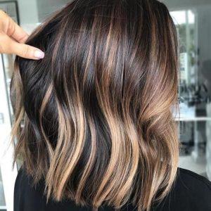 brown brunette lights