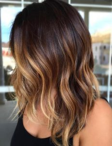 ombre balayage blonde brown