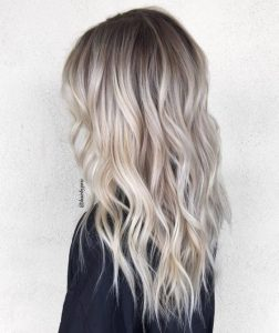root bright blonde