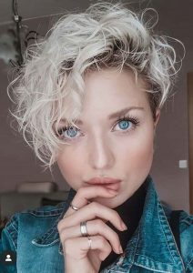 girls pixie curls