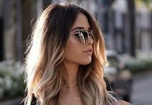 super long ombre hair