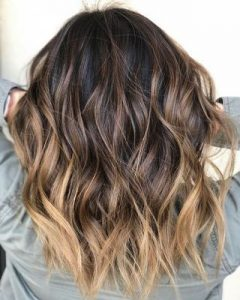 blonde end ombre