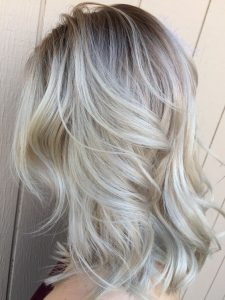 all blonde root