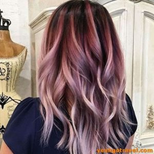soft pink ombre