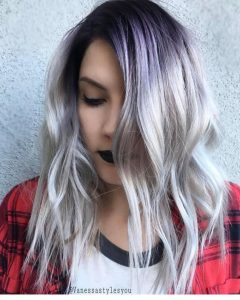shadow root with purple