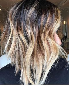 brown shades of ombre