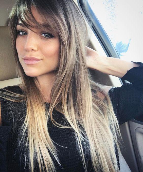 girls straight long cut
