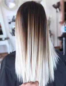 pin straight blonde ombre