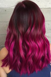pink ombre bold