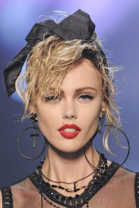 Madonna Style Side Fringe