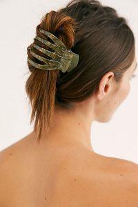 hair claw long