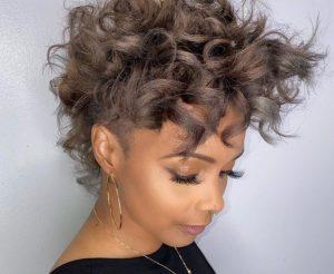 bouncy curls texture