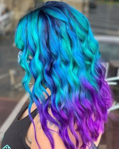 unique mermaid hair