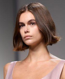 model chin length