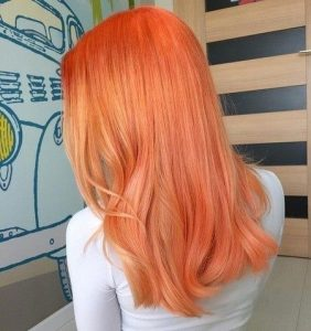 unique neon orange
