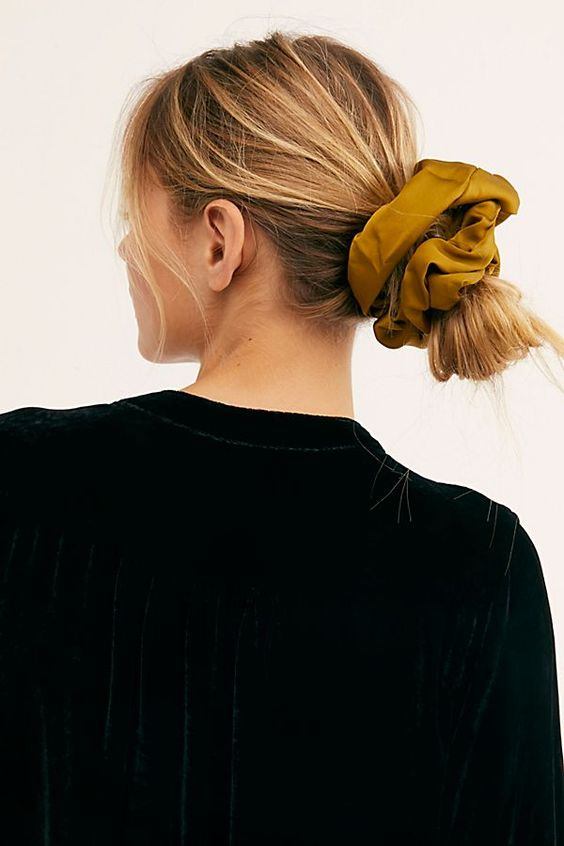 long big scrunchie