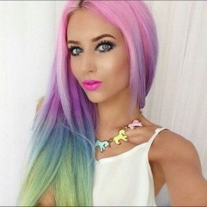 unique pastel rainbow colors
