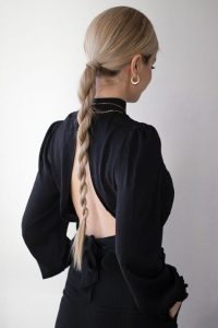 long twisted pony