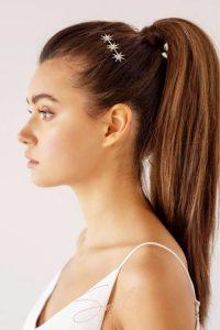 star crystal ponytail