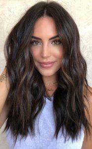 dark mocha hair