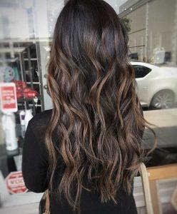 mocha bayalage hair brown