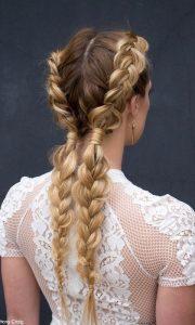 wrapped braids bday