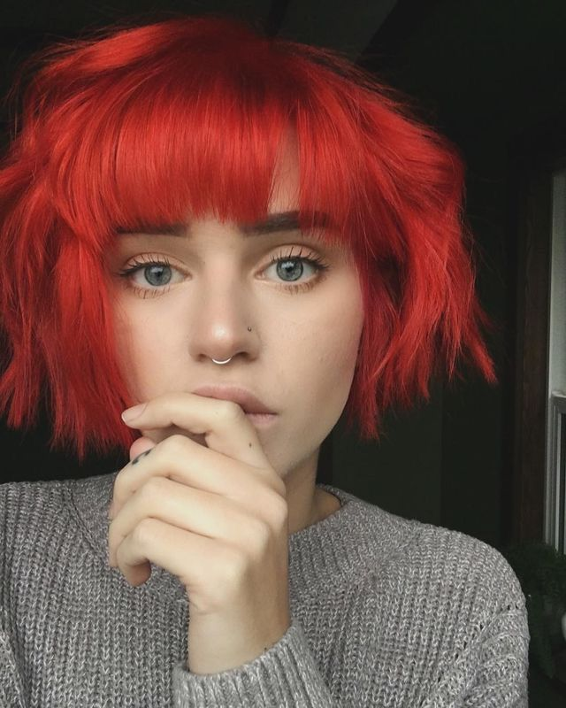 Short Red Hairstyles