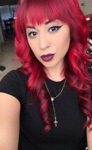 bangs ruby red