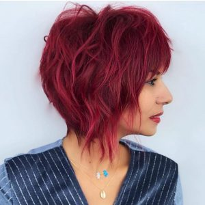 layered chop red