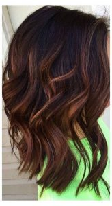 cool toned mocha hair