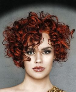 red curly chop