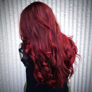 long dark ruby