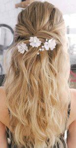 white flower accessory