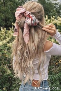 scarf bow extension