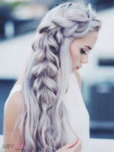 side mermaid braid
