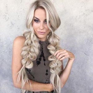 pigtail braids big extension
