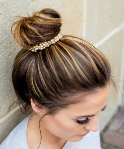 sleek bun accessory