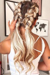 braid ponytail extension