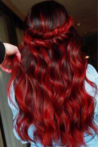 braid ruby red