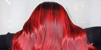 Ruby Red Hair Dye Color ideas