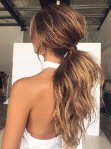 voluminous extension ponytail
