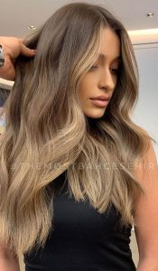 natural Ombre Hair Brown to Blonde